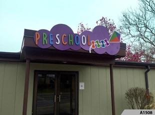 3D Preschool Signs | School, Colleges & Universities | Rolling Meadows Park District
