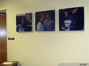Digitally printed photo display - Fremd High School, Palatine