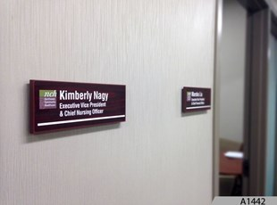 Room ID Signs for Northwest Community Hospital - A1442