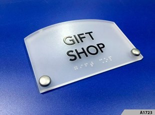 Frosted Acrylic ADA Sign - A1723
