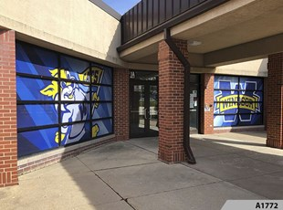 Perforated Vinyl - Windsor Elementary School, Arlington Heights - A1772