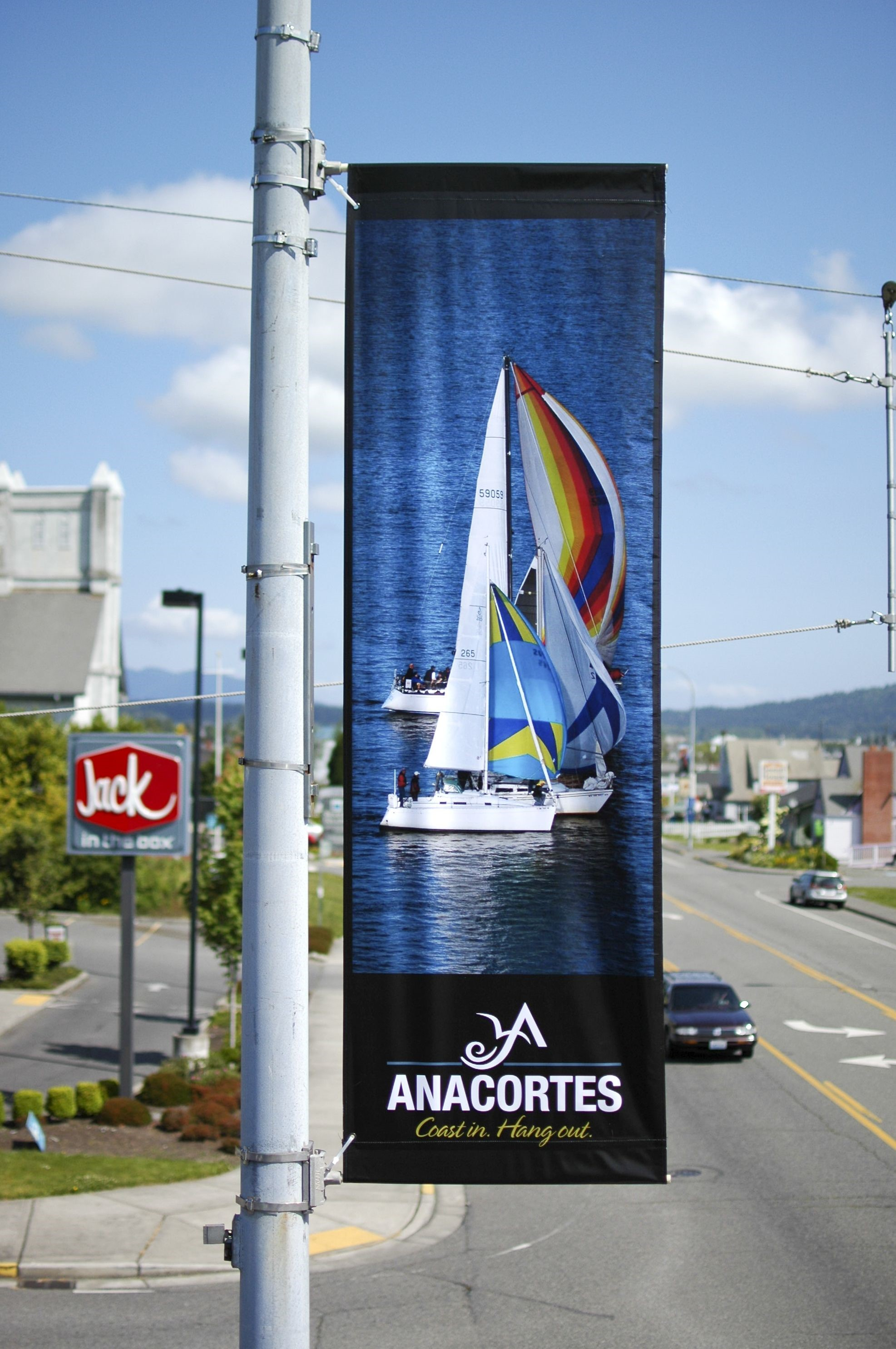 Outdoor Pole Banners Signs By Tomorrow Bellingham
