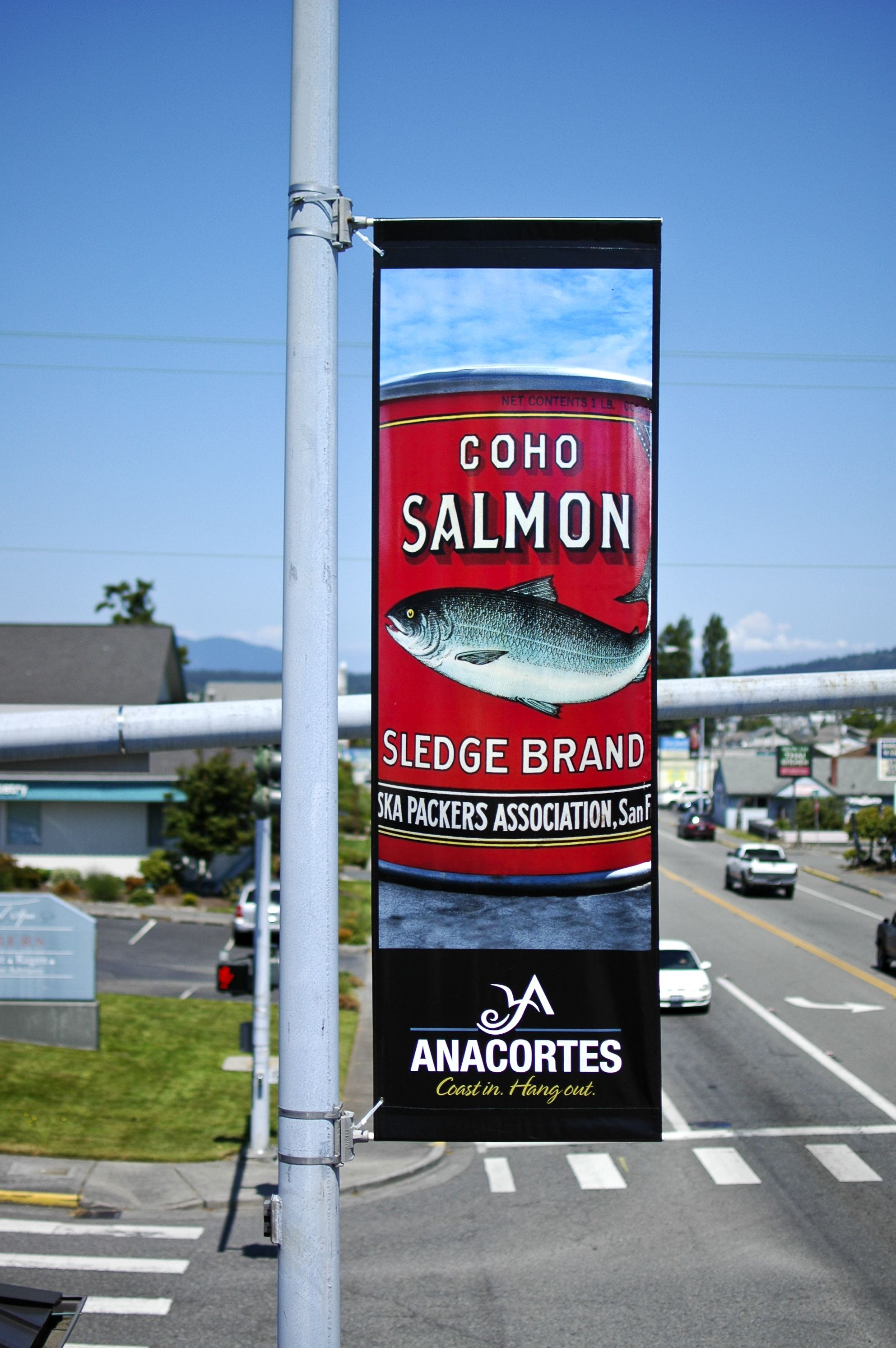 Banner banners banner poles outdoor display cheap custom - Larabee Larabee3 Anacortes 6