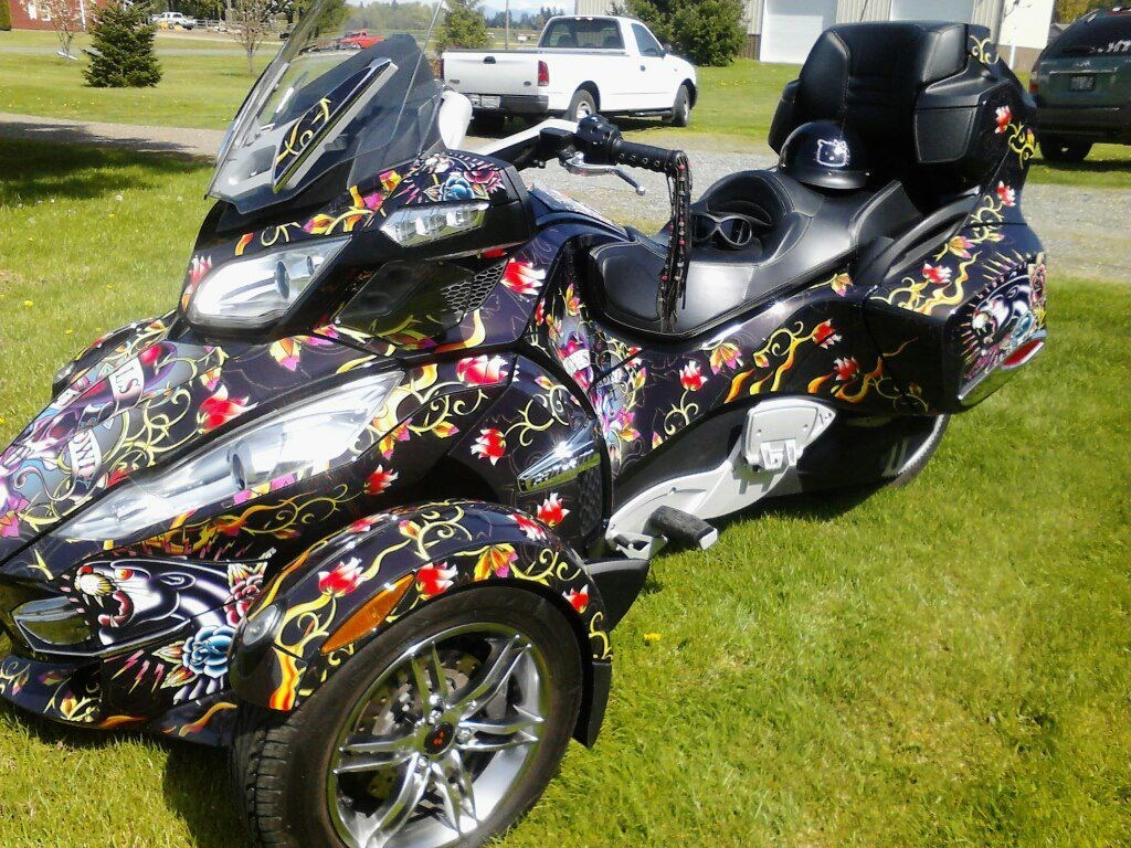 Can-AM Spyder Wrap
