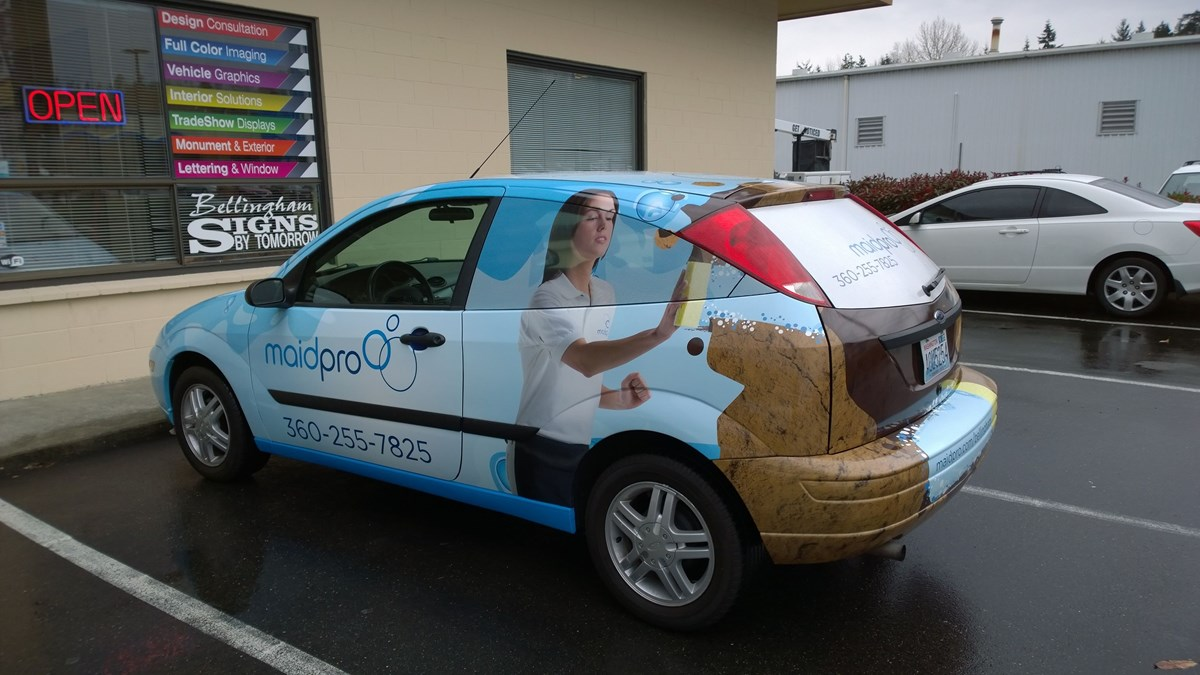Custom Vehicle Wraps Amp Graphics Signs By Tomorrow Bellingham