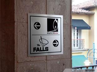 Engraved Metal Sign