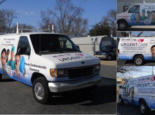 Custom Vehicle Wraps | Custom Vehicle Lettering & Graphics | Healthcare
