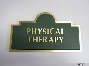 Physical Therapy ADA Sign