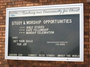 Exterior Church Directory