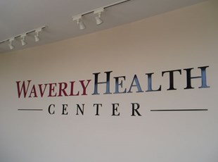 Dimensional Lettering at Waverly Heath Center