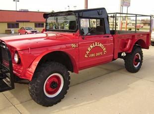 Parkersburg Fire Rescue Vehicle Lettering