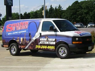 Cedar Falls Signs by Tomorrow - Vehicle Van Wrap