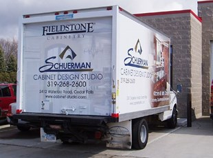 Schuerman Cabinet Design Studio box truck