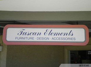 Retail Custom Outdoor Metal Sign