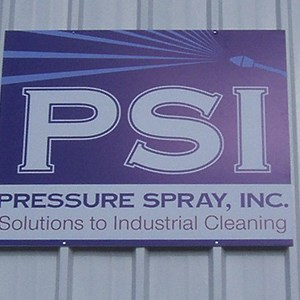 Building Signs Pressure Spray, Inc.