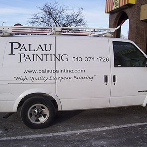 Van Graphics Palau Painting