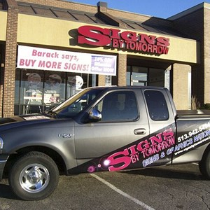 Pick Up Truck Graphics Signs By Tomorrow F150