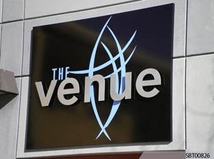 The Venue Outdoor Dimensional Lettering
