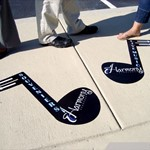 Outdoor Floor Graphics