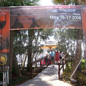 Event Signage - TampaBay Wine & Food Festival