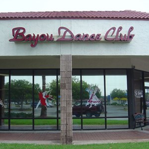 Bayou Dance Club Channel Letters