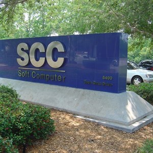 SCC Routed Dimensional Logo