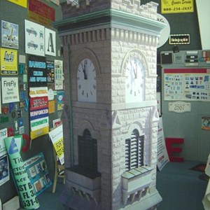 Church Clock Tower for Production Set