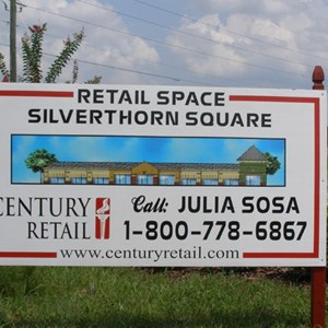 Century Site Sign for Silverthorn Square