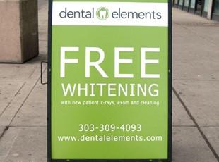 Dentist A-Frame
