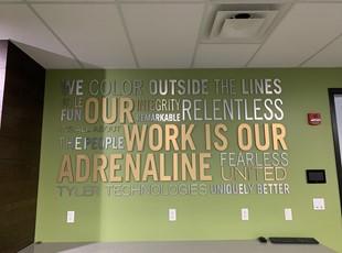 Indoor Dimensional Lettering