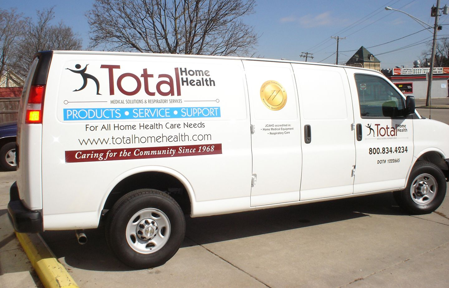 total home health van