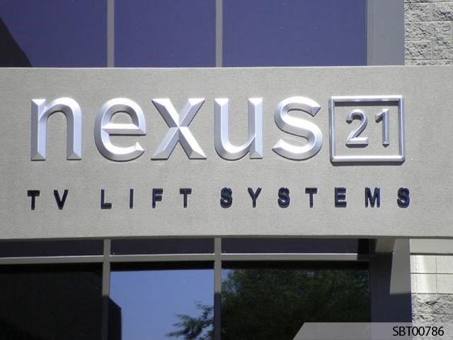 Nexus Outdoor Dimensional Lettering