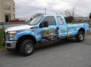 Full Vehicle Wrap for Living Artscapes in Frederick MD