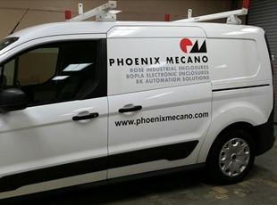 Van Graphics for Phoenix Mecano in Frederick, MD