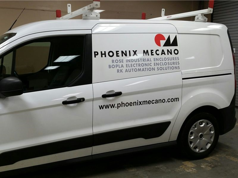 Van Graphics for Phoenix Mecano