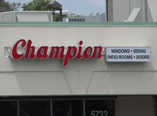 Channel Letters for Champion Windows in Frederick MD