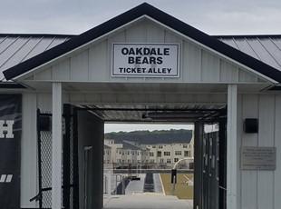 Metal Signs | Education | Oakdale High School | Oakdale Bears | Ticket Alley |Ijamsville, MD