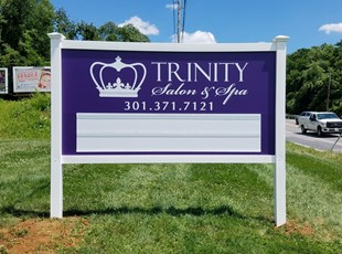 Vinyl Frame System | Post & Panel Signs | Changeable Letter Track | Retail | Middletown, MD