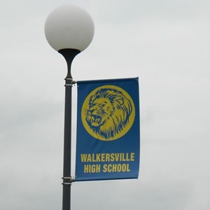 Pole Banner for Walkersville High School