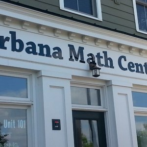 Acrylic Letters for Urbana Math Center