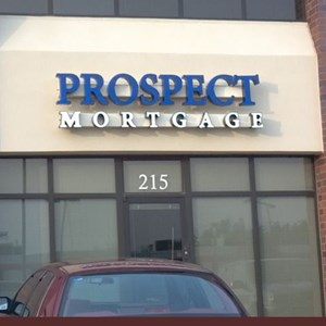 Channel Letters for Prospect Mortgage