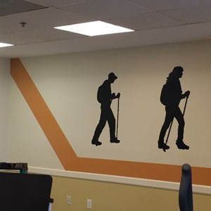 Wall Graphics at Buckingham's Choice