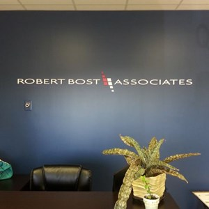 Painted PVC Letters for Robert Bost Associates