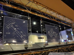 Casino Custom Acrylic Display
