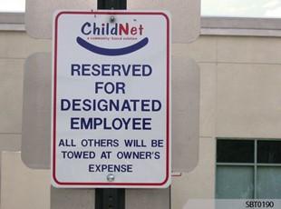 Childnet Parking Sign