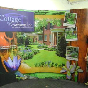 Cottage Gardens PopUp Trade Show Display