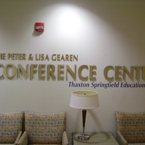 UF 3-D Wall Lettering