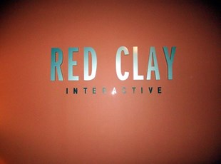 Foam letters for Red Clay Interactive