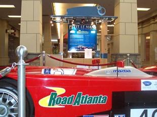 Interior Road Atlanta display