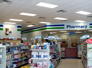 Interior Signage for Medical Park Pharmacy